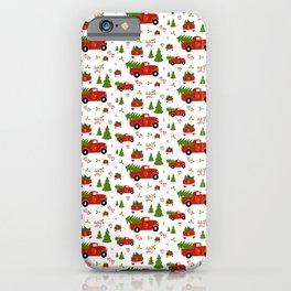 Holly Jolly Farms || Farm Truck Christmas  iPhone Case