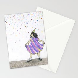 party girl Stationery Cards