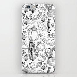 market fresh vegetables iPhone Skin