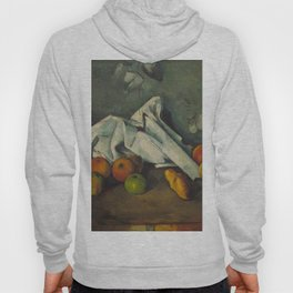 1880 - Paul Cezanne - Milk Can and Apples Hoody