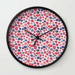 Berry Love Wall Clock
