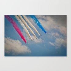 RAF Red Arrows #2 Canvas Print