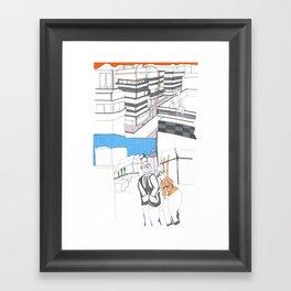 santiago2 Framed Art Print