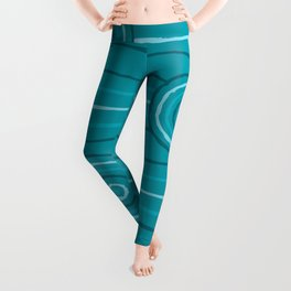 Reef Line Painting Leggings