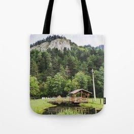 Romanian Landscape Tote Bag