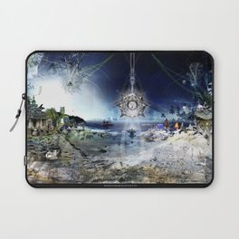 The City of Pyramids in the Night of Pan Laptop Sleeve