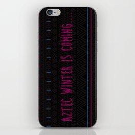 Aztec Winter is coming... iPhone Skin