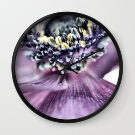 Shy or just acting that way....??? Wall Clock