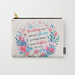 Reading can take you places Carry-All Pouch