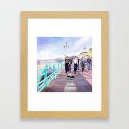 Brighton Bovver Boys Framed Art Print