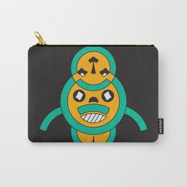 songye people mask Carry-All Pouch