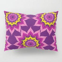 Mandala Madness Plum Pillow Sham