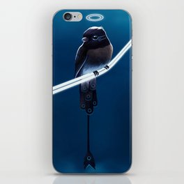 Solar Sparrow iPhone Skin