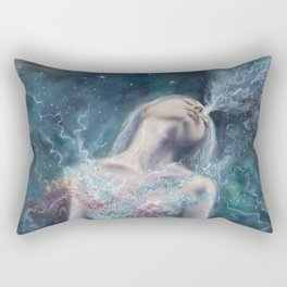 Love Will Split You Open Into Light Rectangular Pillow