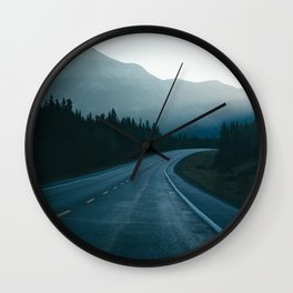 Kananaskis Country Wall Clock