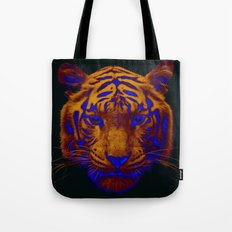 Tiger Pop Tote Bag