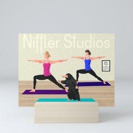 Niffler Yoga Studio Mini Art Print