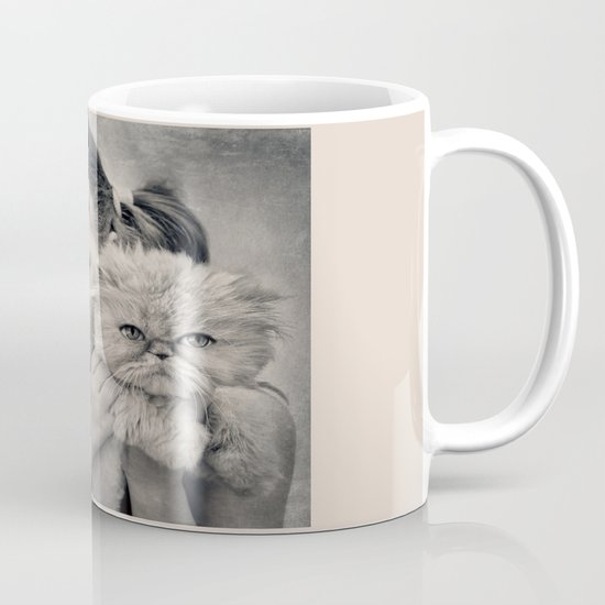 A Girl and her Cat Mug