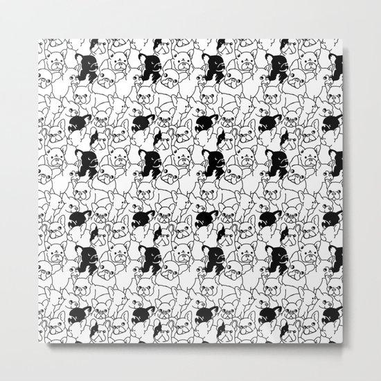 Oh French Bulldog Metal Print