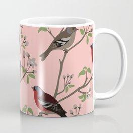 Peaceful harmony in the cherry tree Coffee Mug