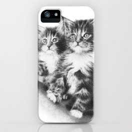 Maine Coon Kittens iPhone Case