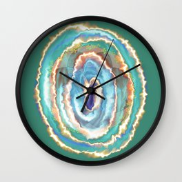 Numinosity ~ Spirit Bursts Forth Wall Clock