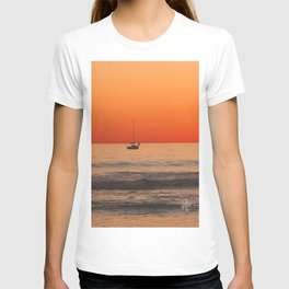 Indian Summer Sunset by Aloha Kea Photography T-shirt