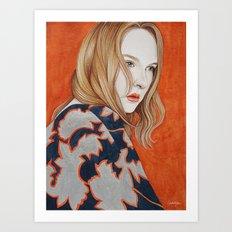 Close Up 19 Art Print