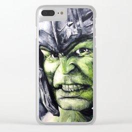 SMASH: The Hulk Clear iPhone Case