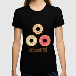 Go doNUTS! T-shirt