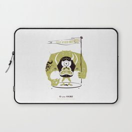 O is for Ogre Laptop Sleeve