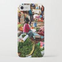 peru iPhone & iPod Cases featuring PERU by Camille Defago