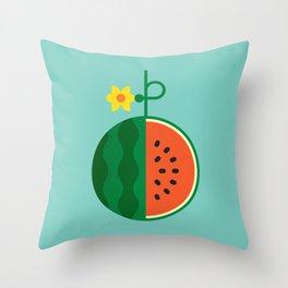 Fruit: Watermelon Throw Pillow