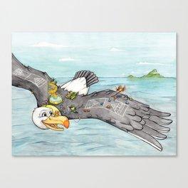 Cruise Canvas Print