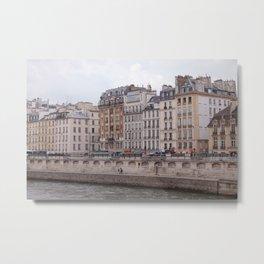 Afternoon on the Seine Metal Print