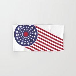 America, the shooting star. Hand & Bath Towel