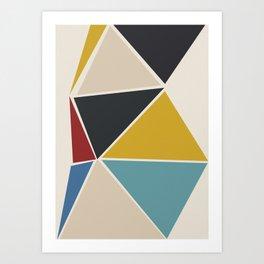 geometric 15 Art Print