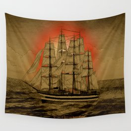 Set Sail - 001 Wall Tapestry