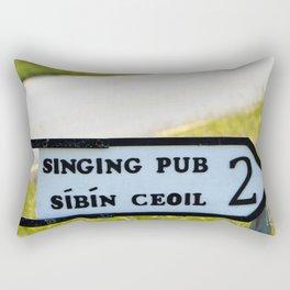 Craic agus Ceol Donegal Rectangular Pillow