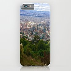 Mount Monserrate, with a 10,000 ft view of Bogota Colombia Slim Case iPhone 6s