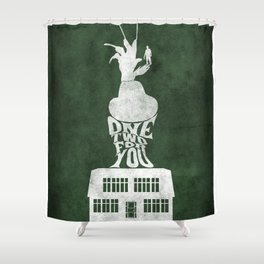 Movie Poster - Elm Street Shower Curtain