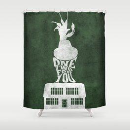 Movie Poster - Elm Street Shower Curtain