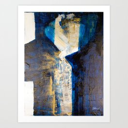 Flatlined Art Print