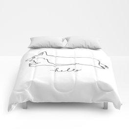 Pembroke Welsh Corgi - Hello Comforters