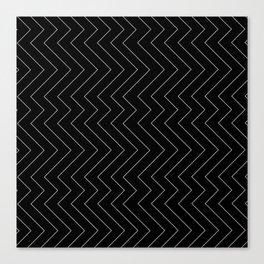 YARA ((white on black)) Canvas Print