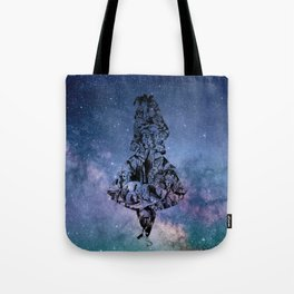 Alice in the Sky Tote Bag