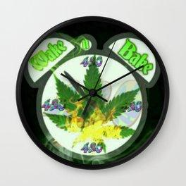 WAKE & BAKE Wall Clock