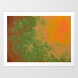 Blister in the sun Art Print