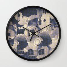 Futurist Miami Beach Wall Clock