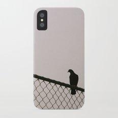 Pigeon Fence Slim Case iPhone X